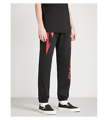 METALLICA Seek and Destroy cotton-jersey jogging bottoms (Black