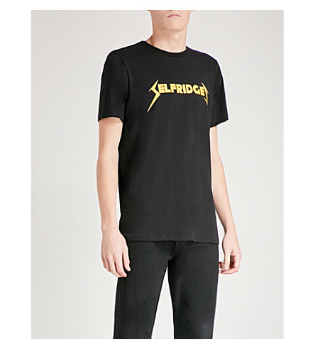 METALLICA Selfridges cotton-jersey T-shirt (Black