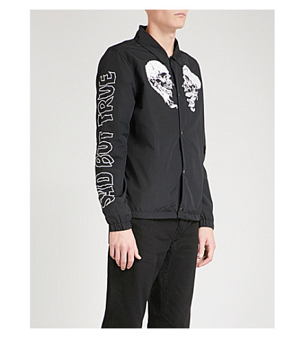 METALLICA Sad But True shell coach jacket (Black