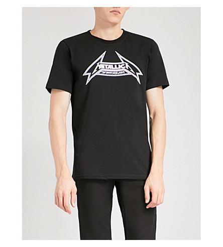METALLICA Seek and Destroy cotton-jersey T-shirt (Black