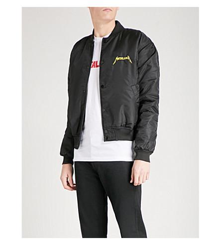 METALLICA Skull shell bomber jacket (Black