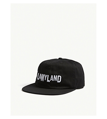 LAMYLAND Lamyland cotton strapback cap (Black