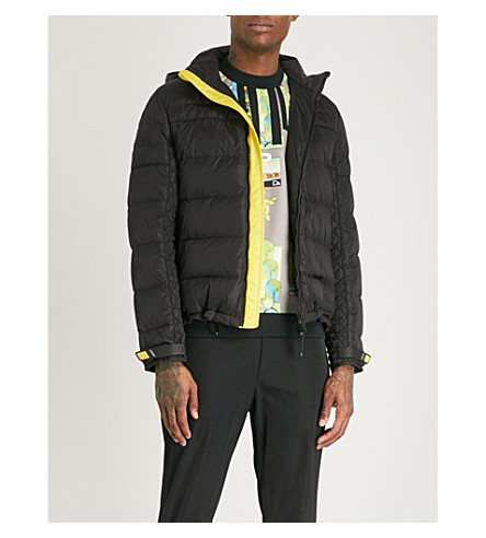 PRADA Padded nylon-down jacket (Black