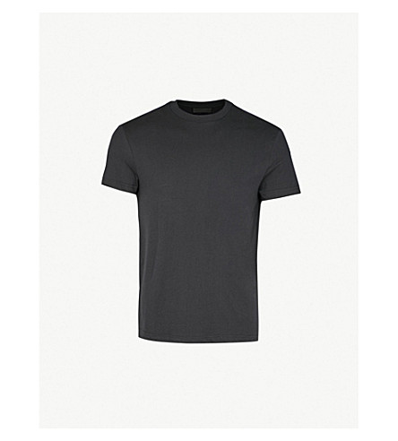 PRADA Pack of three cotton-jersey T-shirts (Black