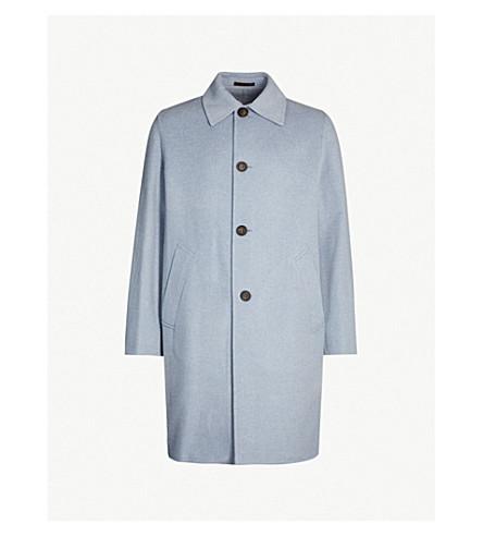 ACNE STUDIOS Marilia wool and cashmere-blend coat (Pale blue