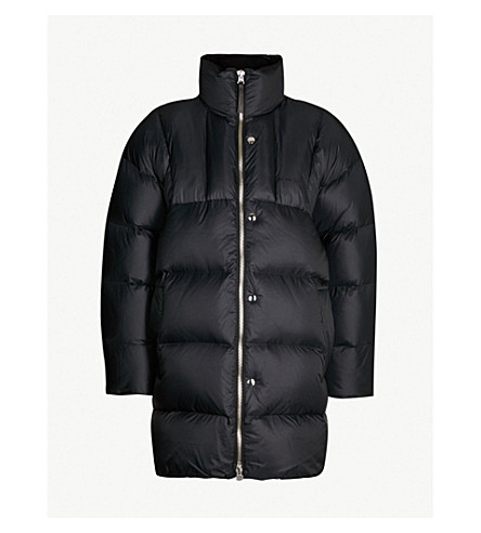 ACNE STUDIOS Padded shell-down coat (Black