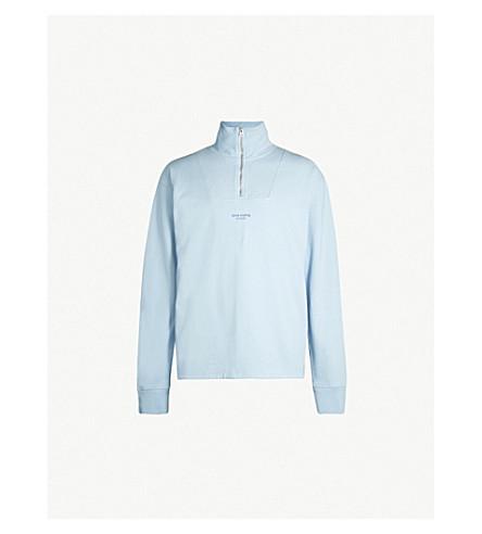 ACNE STUDIOS Faraz cotton-jersey sweatshirt (Pale blue