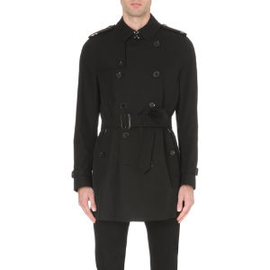 London the kensington cotton-gabardine trench coat