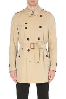 BURBERRY LONDON The Kensington cotton-gabardine trench coat