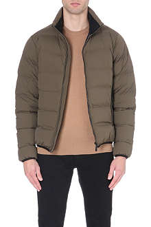 BURBERRY Funnel-neck quilted jacket