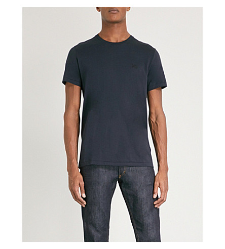 BURBERRY Joeforth cotton-jersey T-shirt (Navy