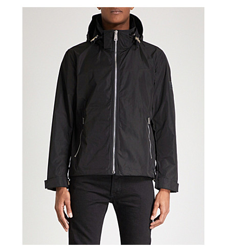 BURBERRY Hedley shell jacket (Black