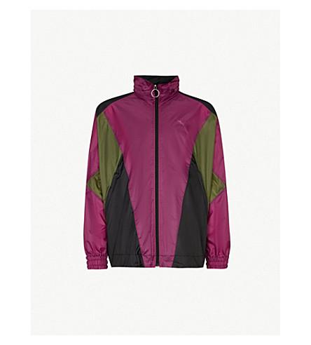 BURBERRY Hepwood colourblocked 软壳面料夹克 (摄政 + 紫色