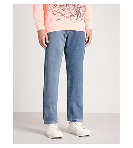 BURBERRY Regular-fit straight jeans (Indigo