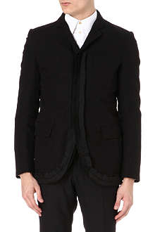 ANN DEMEULEMEESTER Taped lapel jacket