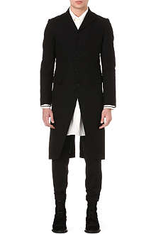 ANN DEMEULEMEESTER Long tailored coat