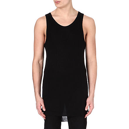 ANN DEMEULEMEESTER Plain vest top (Black
