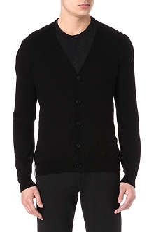 ANN DEMEULEMEESTER Striped-back cardigan