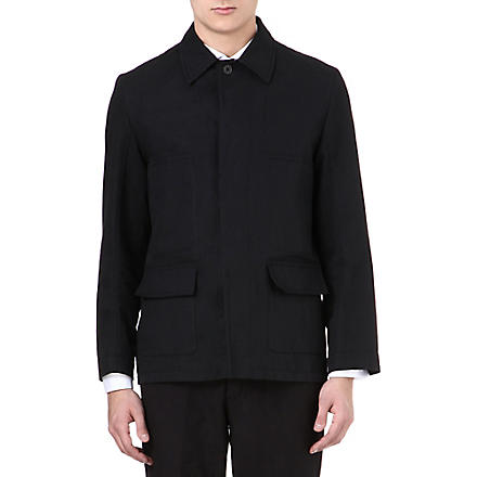 ANN DEMEULEMEESTER Field jacket (Black