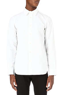ANN DEMEULEMEESTER Ribbed Oxford shirt
