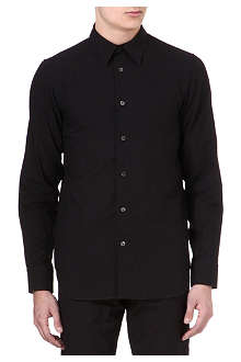 ANN DEMEULEMEESTER Removable collar shirt