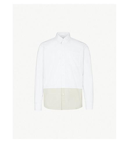 DRIES VAN NOTEN Coen regular-fit cotton shirt (White
