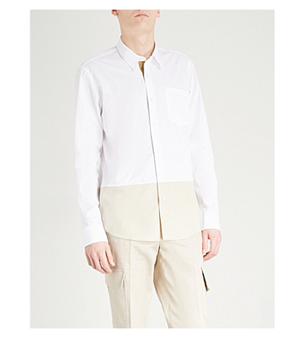 DRIES VAN NOTEN Coen regular-fit cotton shirt (White