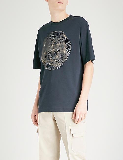DRIES VAN NOTEN Henry cotton-jersey T-shirt