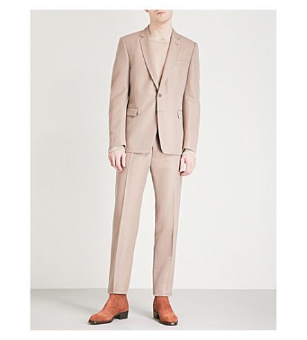 DRIES VAN NOTEN Kayne regular-fit woll-blend suit (Rose