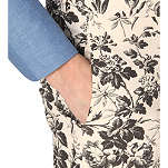 Gucci: Floral tapered trousers | Clothing > Trousers,Clothing -  Hiphunters Shop