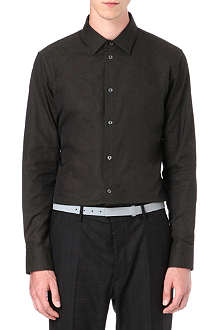 MAISON MARTIN MARGIELA Embroidered slim-fit single cuff shirt