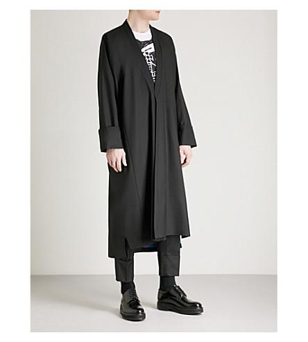 VIVIENNE WESTWOOD Stitch-detail wool jacket (Black