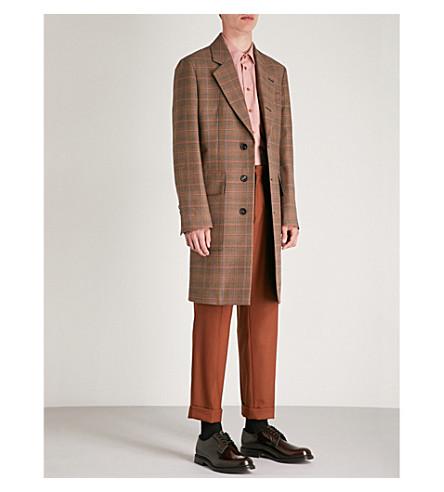 a Abrigo inglés WESTWOOD VIVIENNE Multicolor cuadros de lana P5InqR