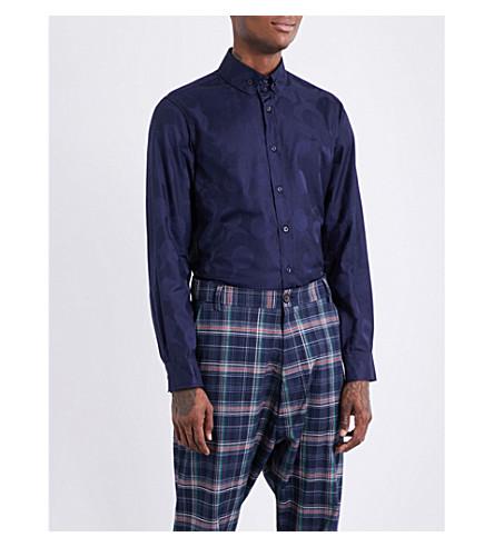 VIVIENNE WESTWOOD Classic-fit cotton shirt (Navy