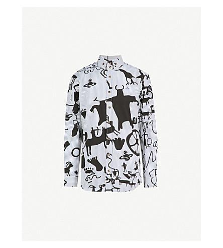 VIVIENNE WESTWOOD Caveman regular-fit cotton shirt (Gingham