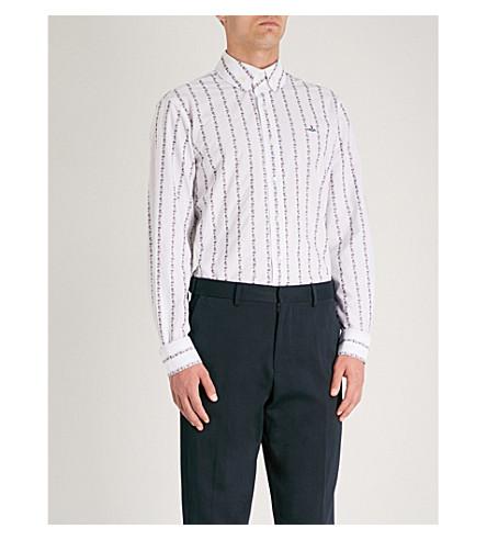 VIVIENNE WESTWOOD Flower Power classic-fit cotton shirt (White