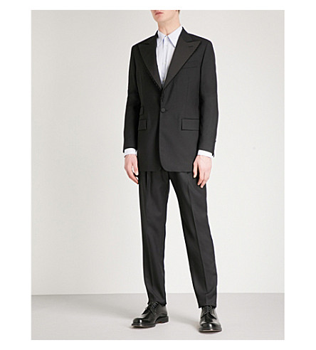 VIVIENNE WESTWOOD Serge Bayonet regular-fit wool suit (Black