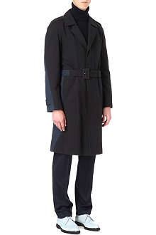 MAISON MARTIN MARGIELA Bi-colour trench coat