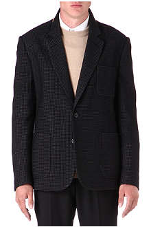 MAISON MARTIN MARGIELA Mini grid patch pocket jacket