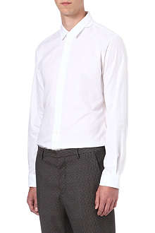 MAISON MARTIN MARGIELA Layered collar slim-fit shirt