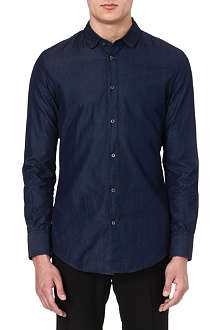 MAISON MARTIN MARGIELA Slim-fit chambray shirt
