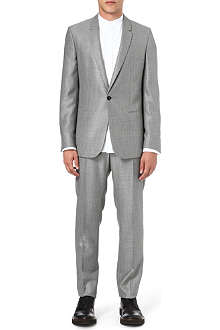 MAISON MARTIN MARGIELA Birdseye single-button suit