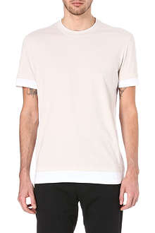MAISON MARTIN MARGIELA Bi-colour panel t-shirt