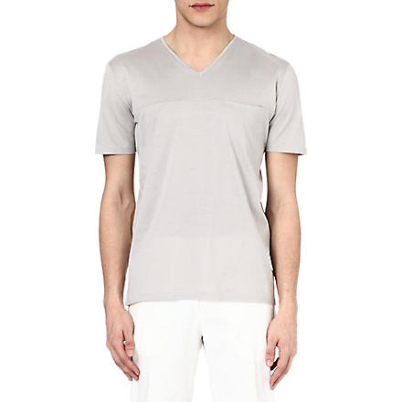 MAISON MARTIN MARGIELA Pocket seam t-shirt (Grey