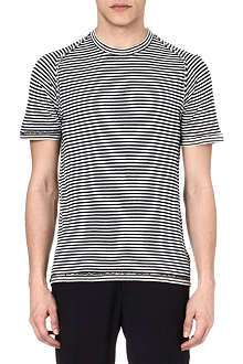 MAISON MARTIN MARGIELA Striped raglan t-shirt