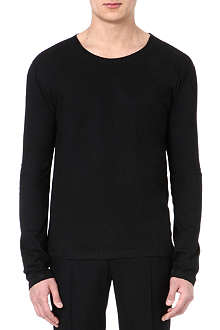 MAISON MARTIN MARGIELA Long-sleeved cotton top