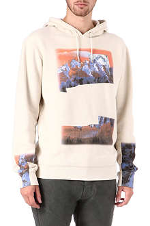 MAISON MARTIN MARGIELA Space graphic hoody