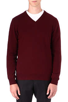MAISON MARTIN MARGIELA Elbow patch jumper