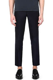MAISON MARTIN MARGIELA Slim-fit cropped trousers