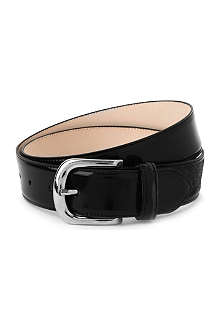 MAISON MARTIN MARGIELA Big buckle leather belt
